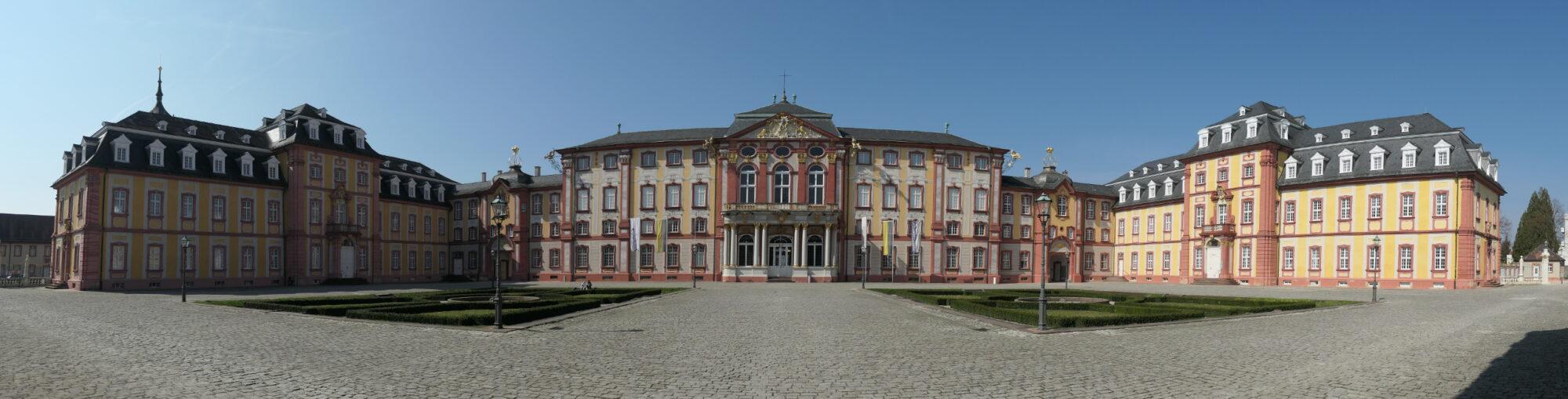 Bruchsal Palace Banner.