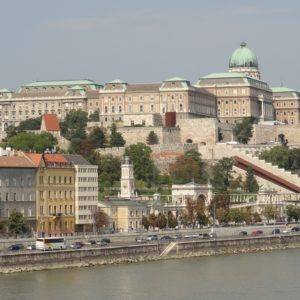 Budapest Royal Palace At Buda Castle