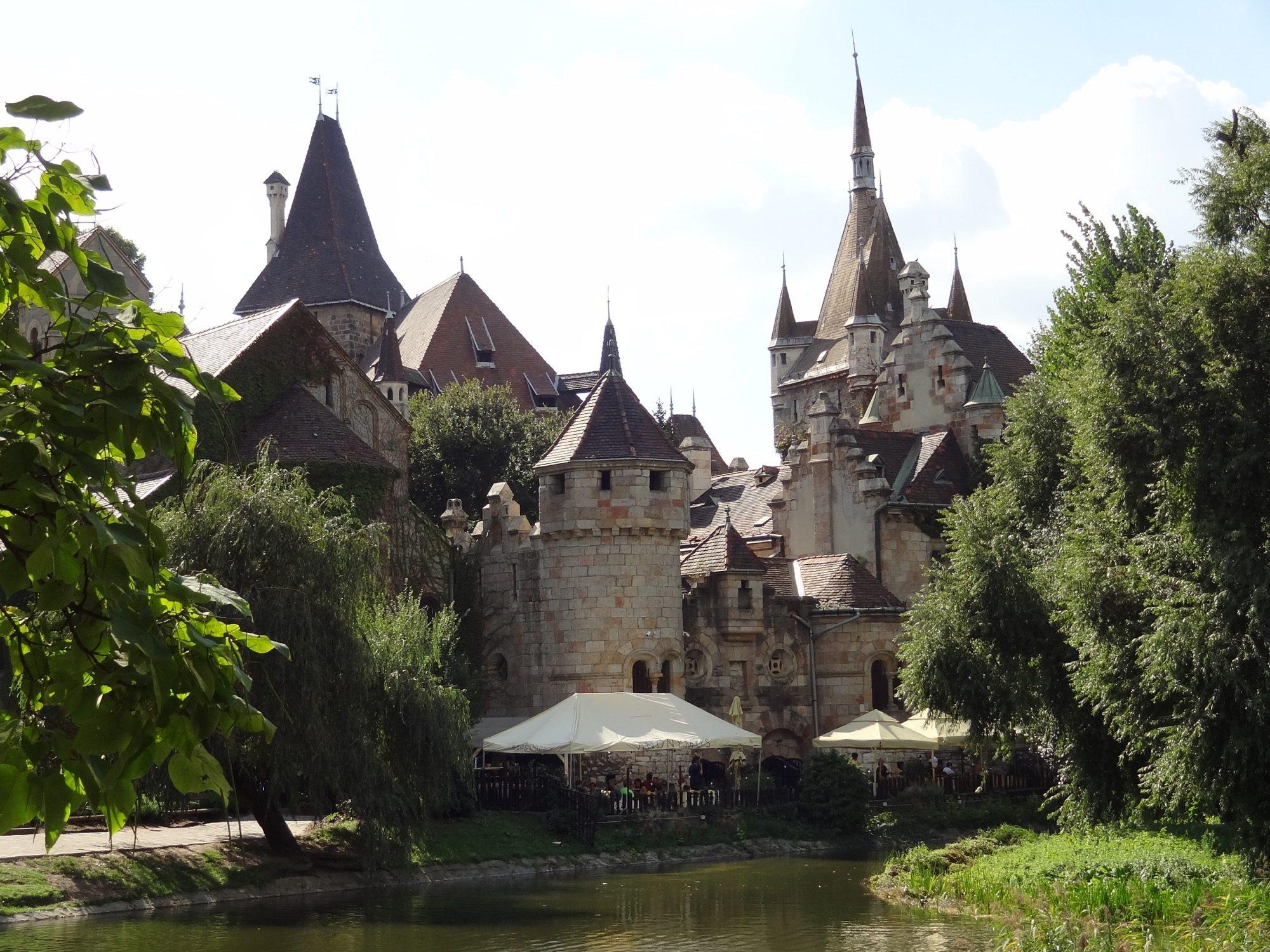 Budapest Vajdahunyad Castle Back