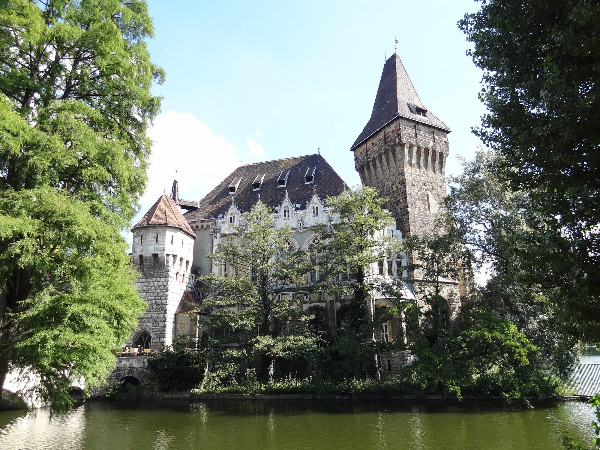 Budapest Vajdahunyad Castle Front
