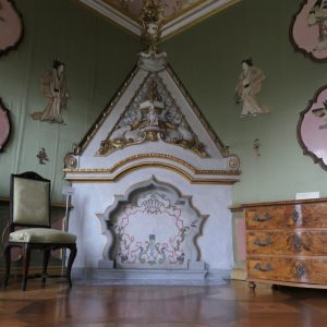 Japanese room at Rastatt Favorite Palace.