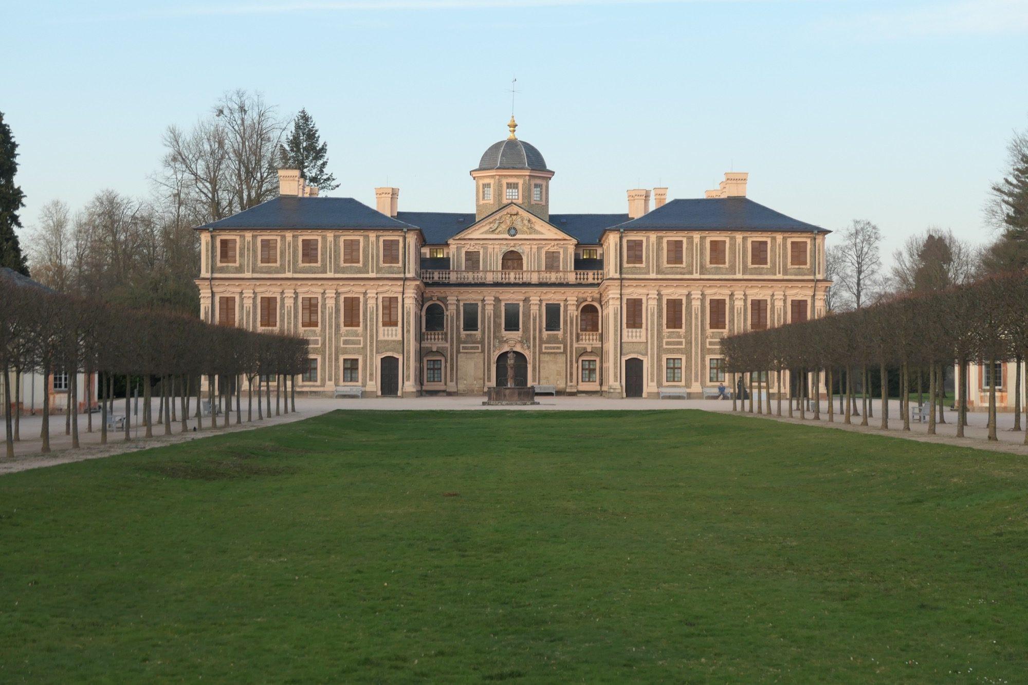 Backside of Rastatt Palace Favorite