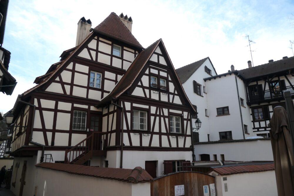 Half-Timbered House.