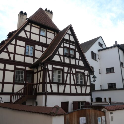 Half-Timbered House.