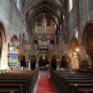 Inside St. Peters Church.