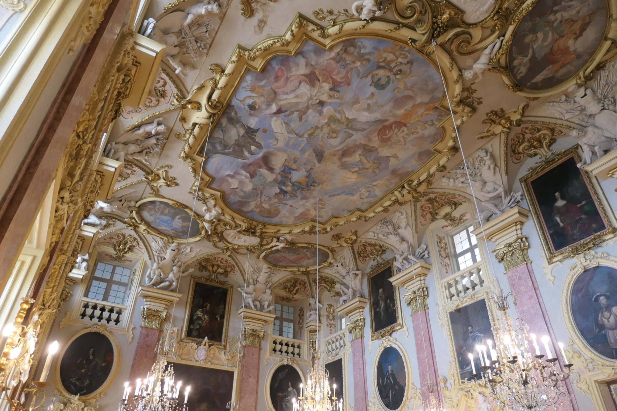 Ancestral Hall at Rastatt Residential Palace.