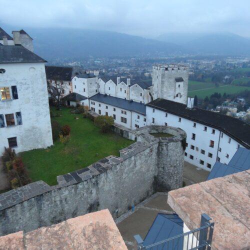 Salzburg Fortress Panorama