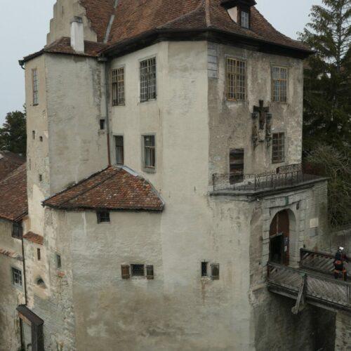 Meersburg castle bridge over the moat