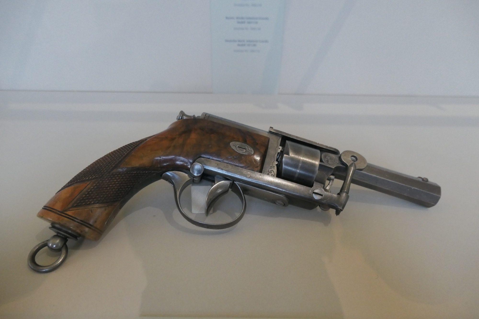 Prussian Dreyse Needle Revolver