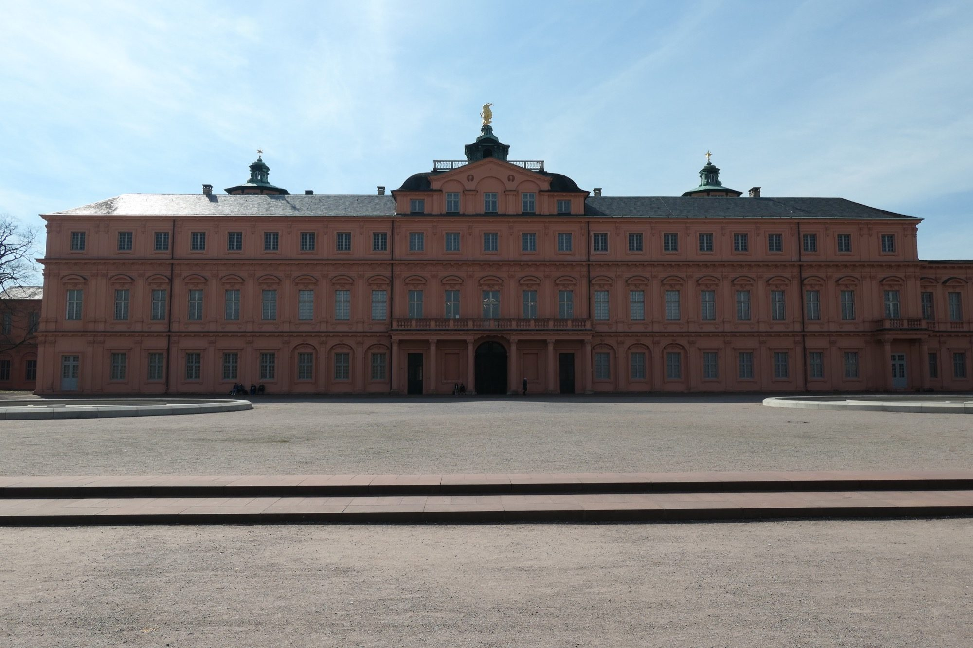 Backside of Rastatt Residential Palace