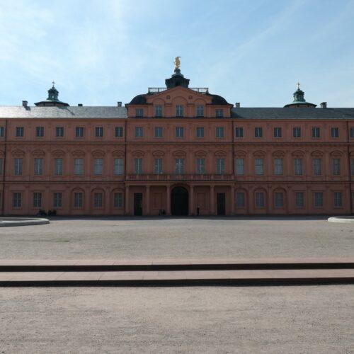 Backside of Rastatt Residential Palace