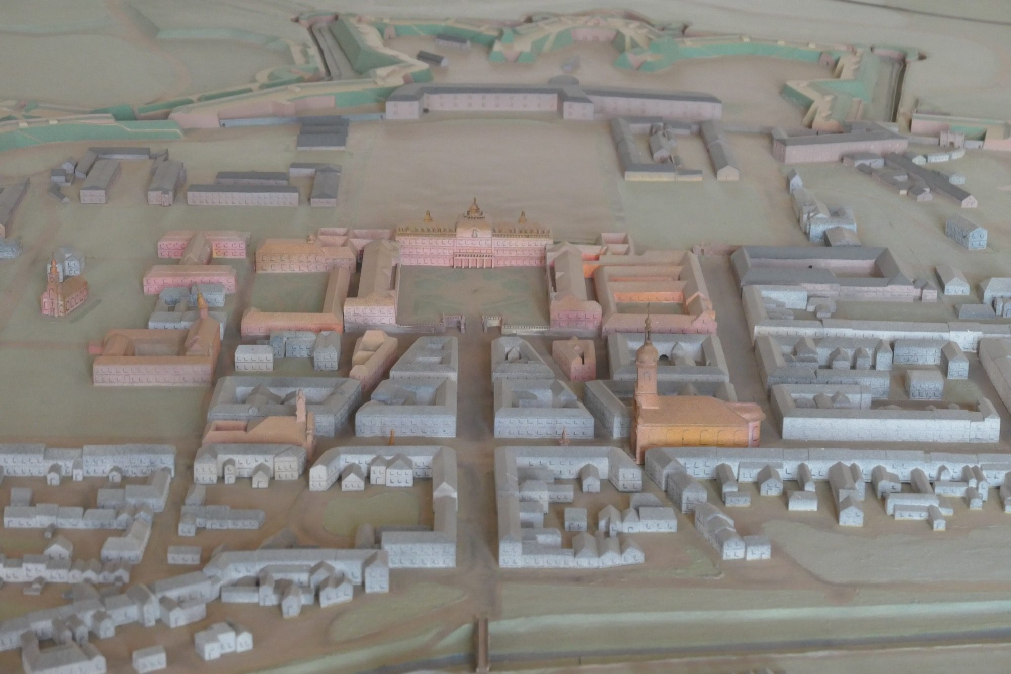Model of Rastatt Residential Palace