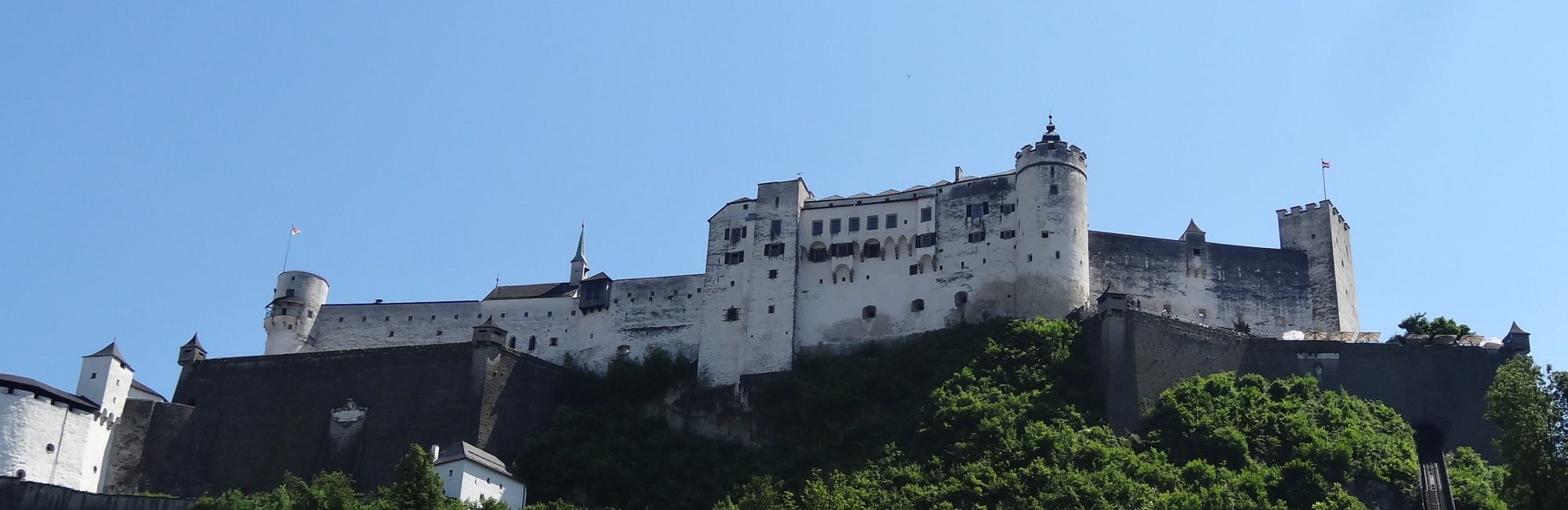 Fortress Hohensalzburg Banner