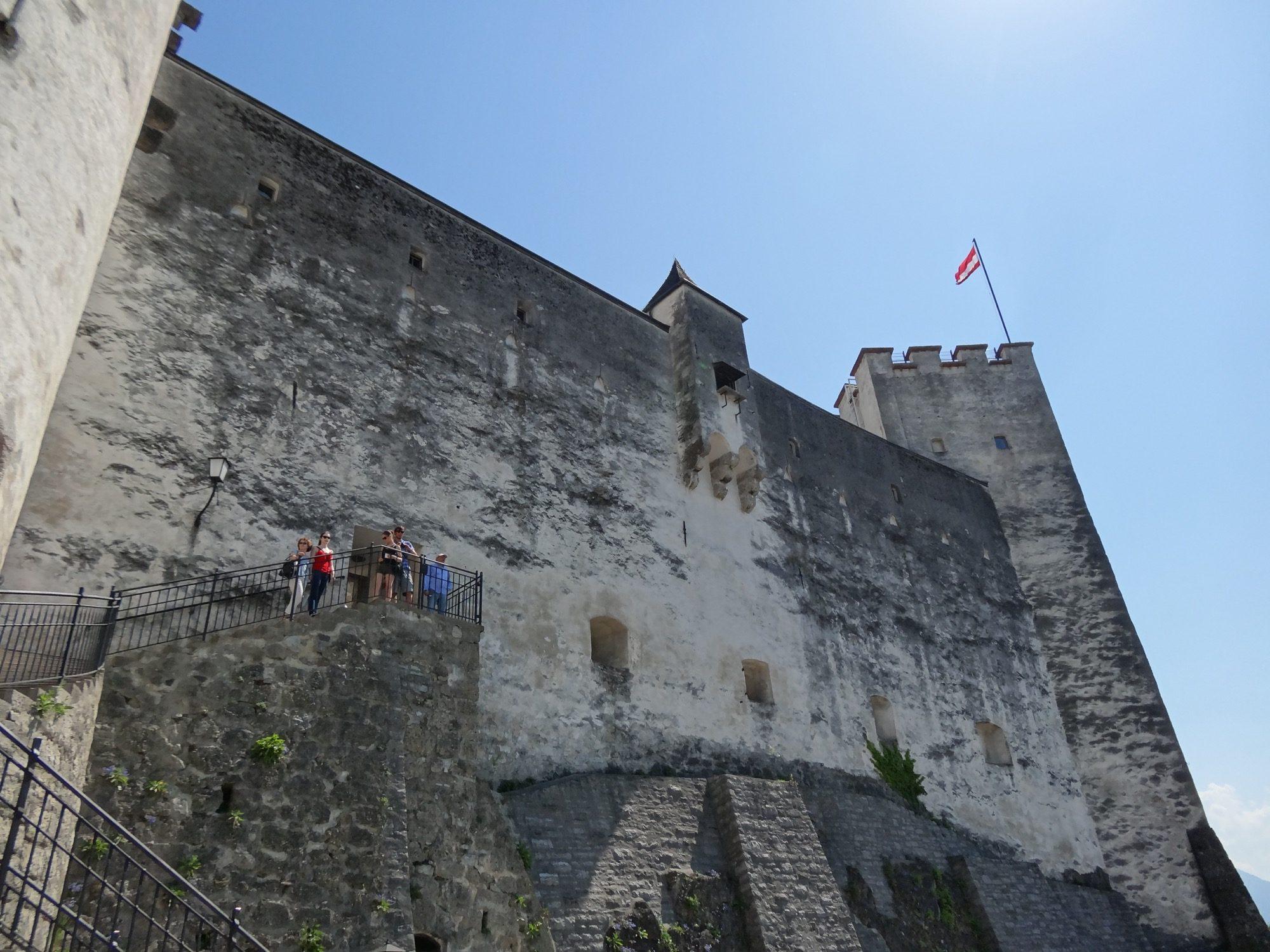 Walls of Hohensalzburg