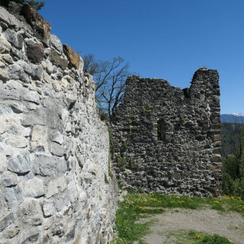 The outside bastion seen from the main gate