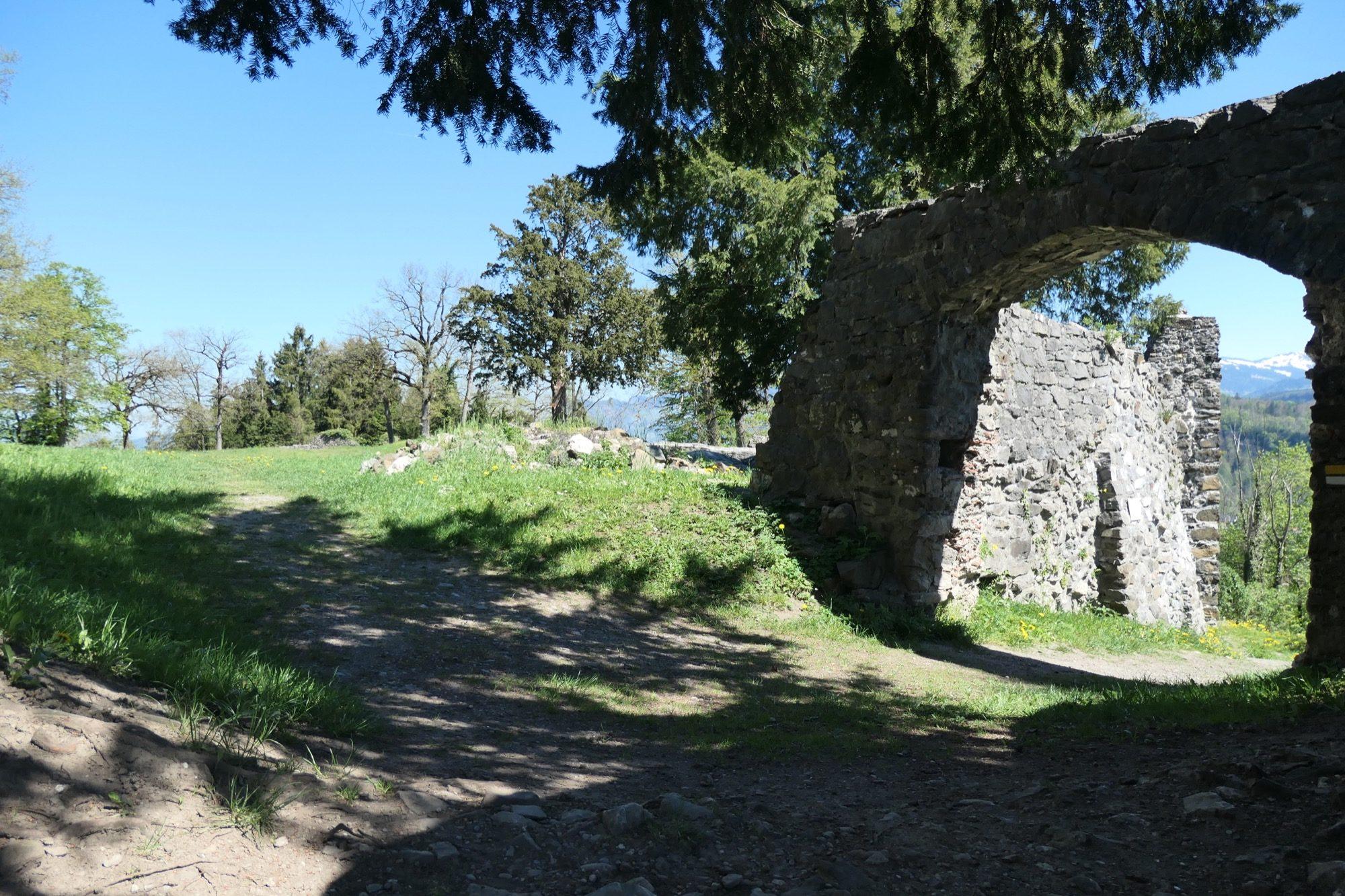 Main gate seen from inside