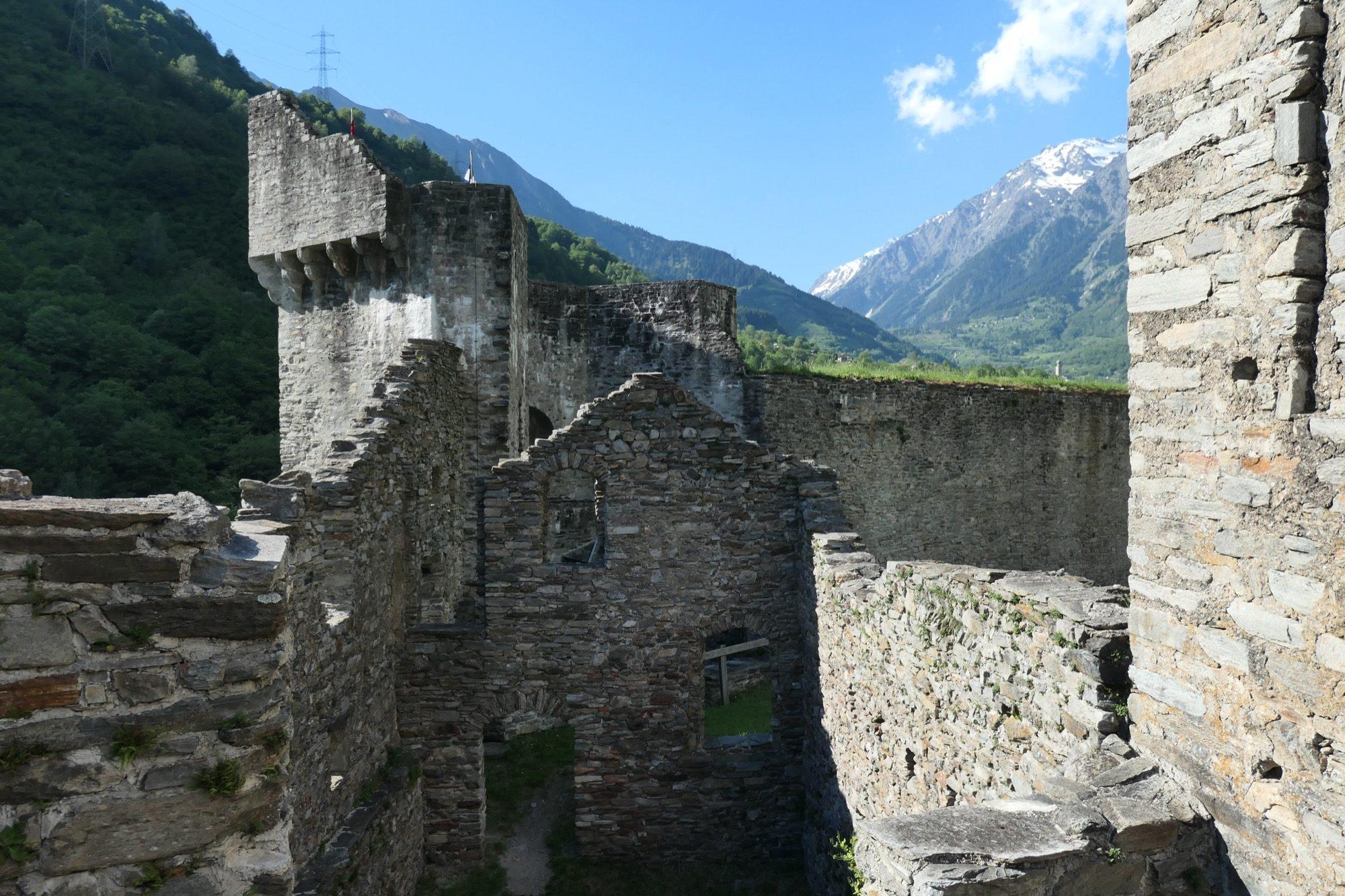 Keep panorama into val Mesolcina
