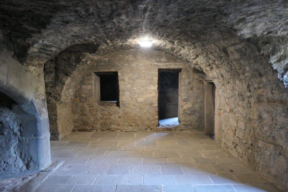 Vault at Craigmillar Castle