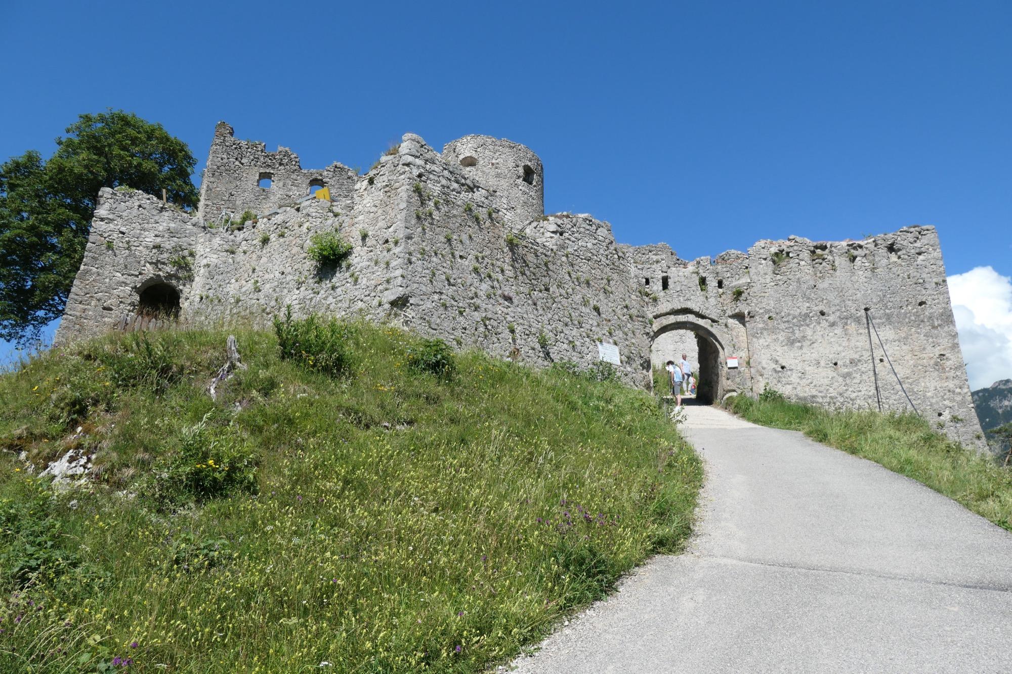 Main Gate of Ehrenberg Castle
