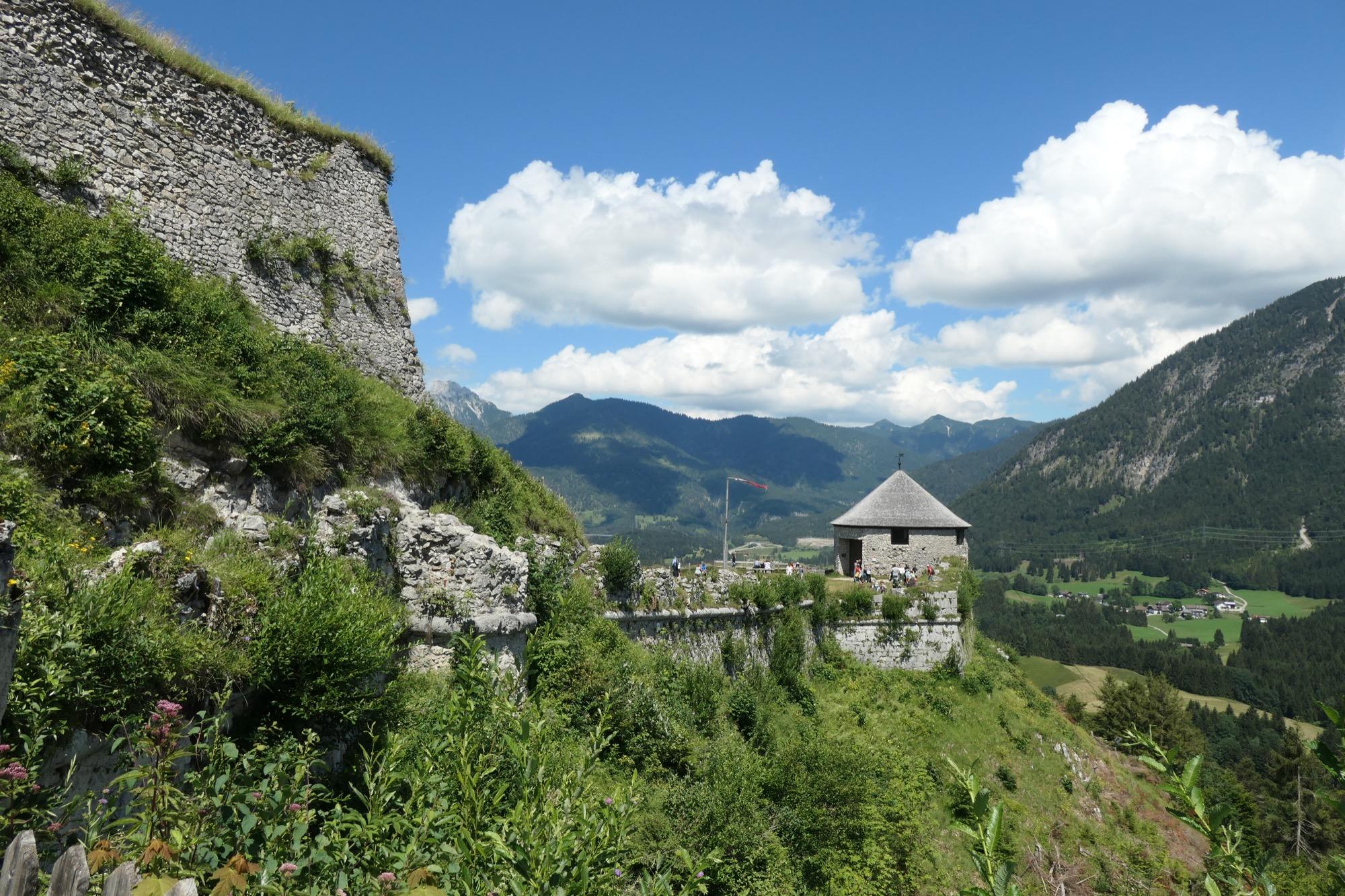 Ehrenberg Castle Panorama