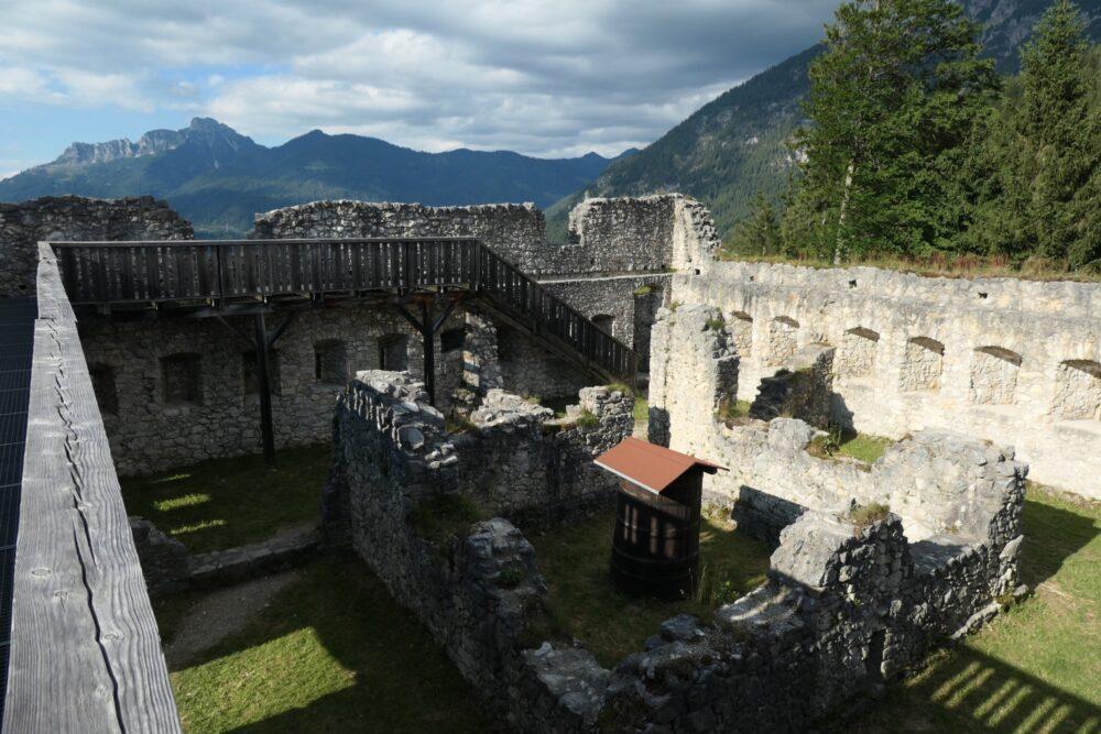 Inside Fort Claudia