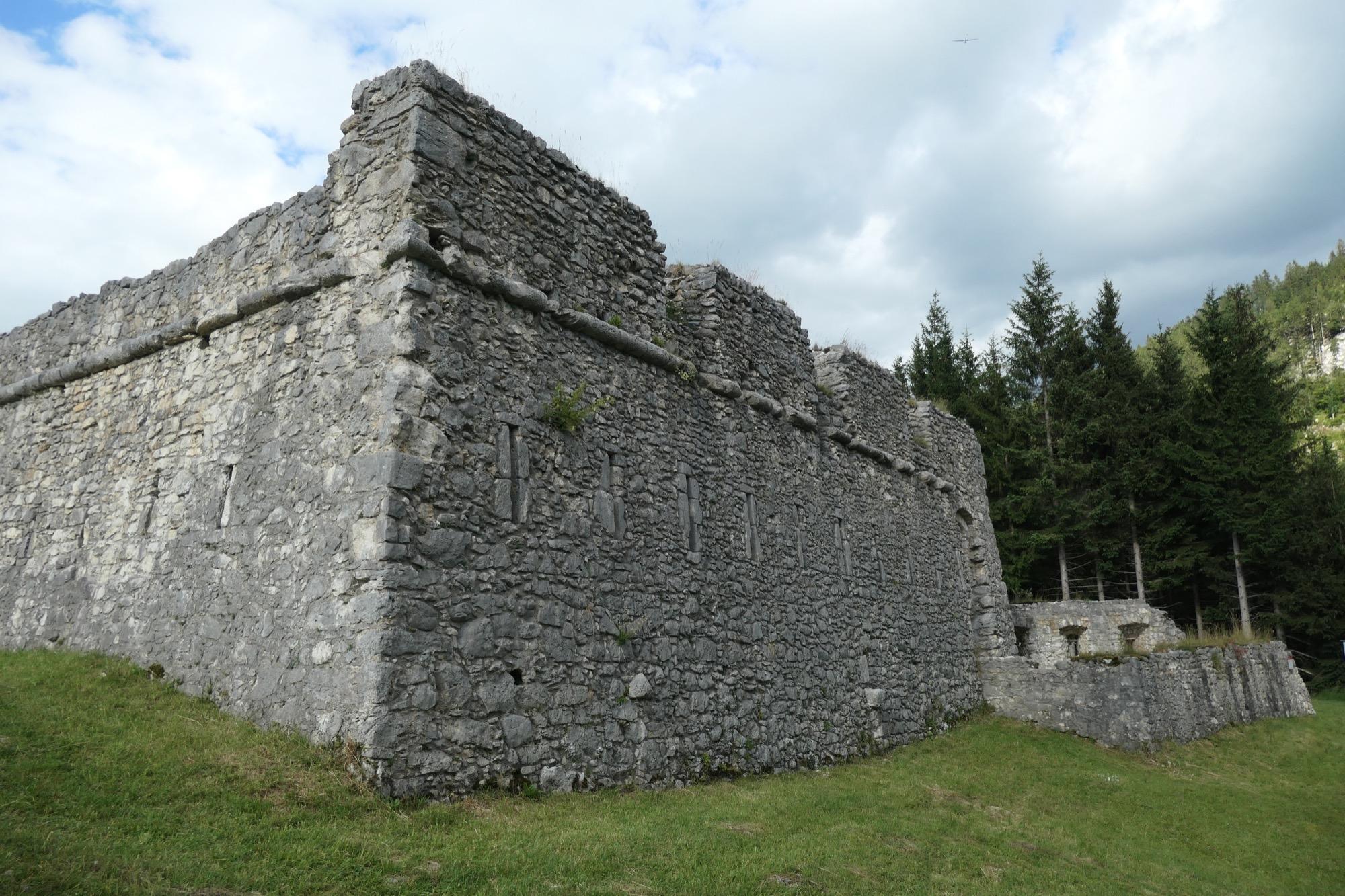 Corner at Fort Claudia