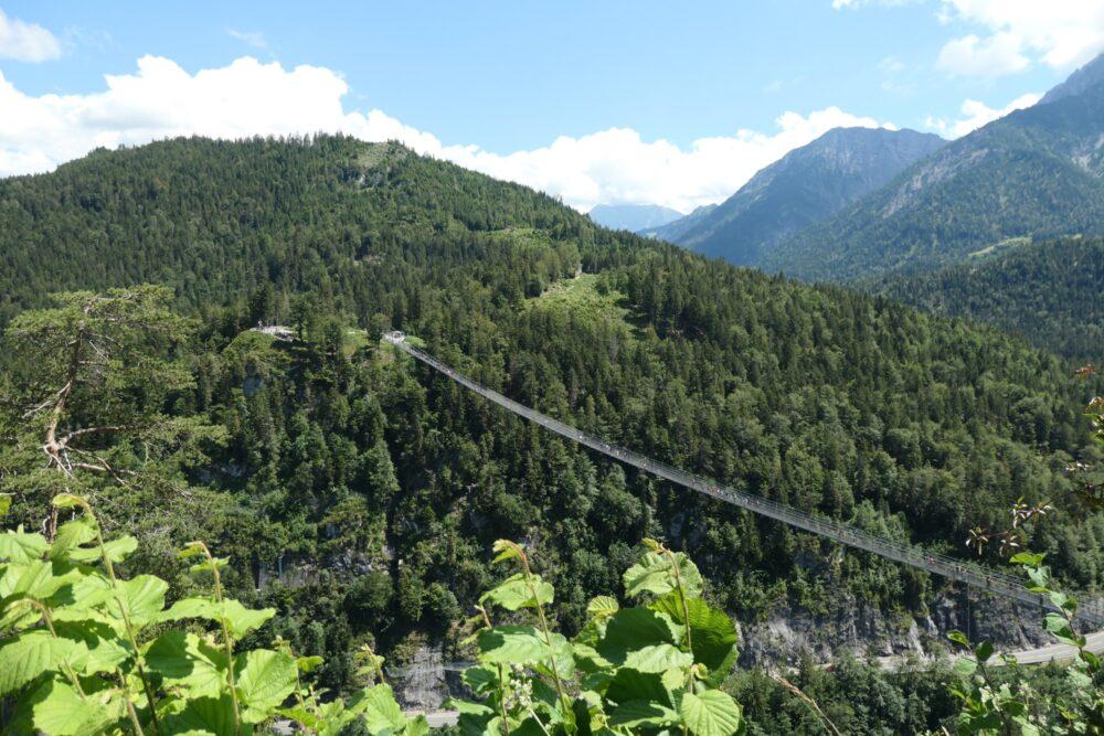 Highline 179: The world's longest pedestrian suspension bridge.