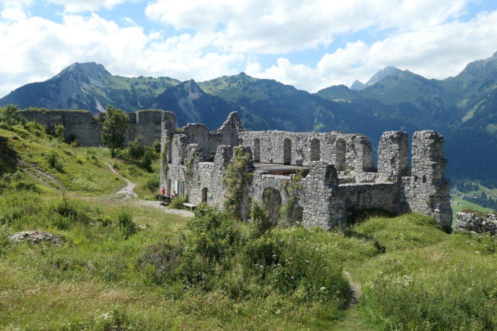 Ruins at Schlosskopf