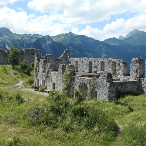 Ruins at Schlosskopf