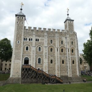 The white tower.