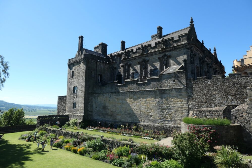 Castle gardens and Prince's Tower