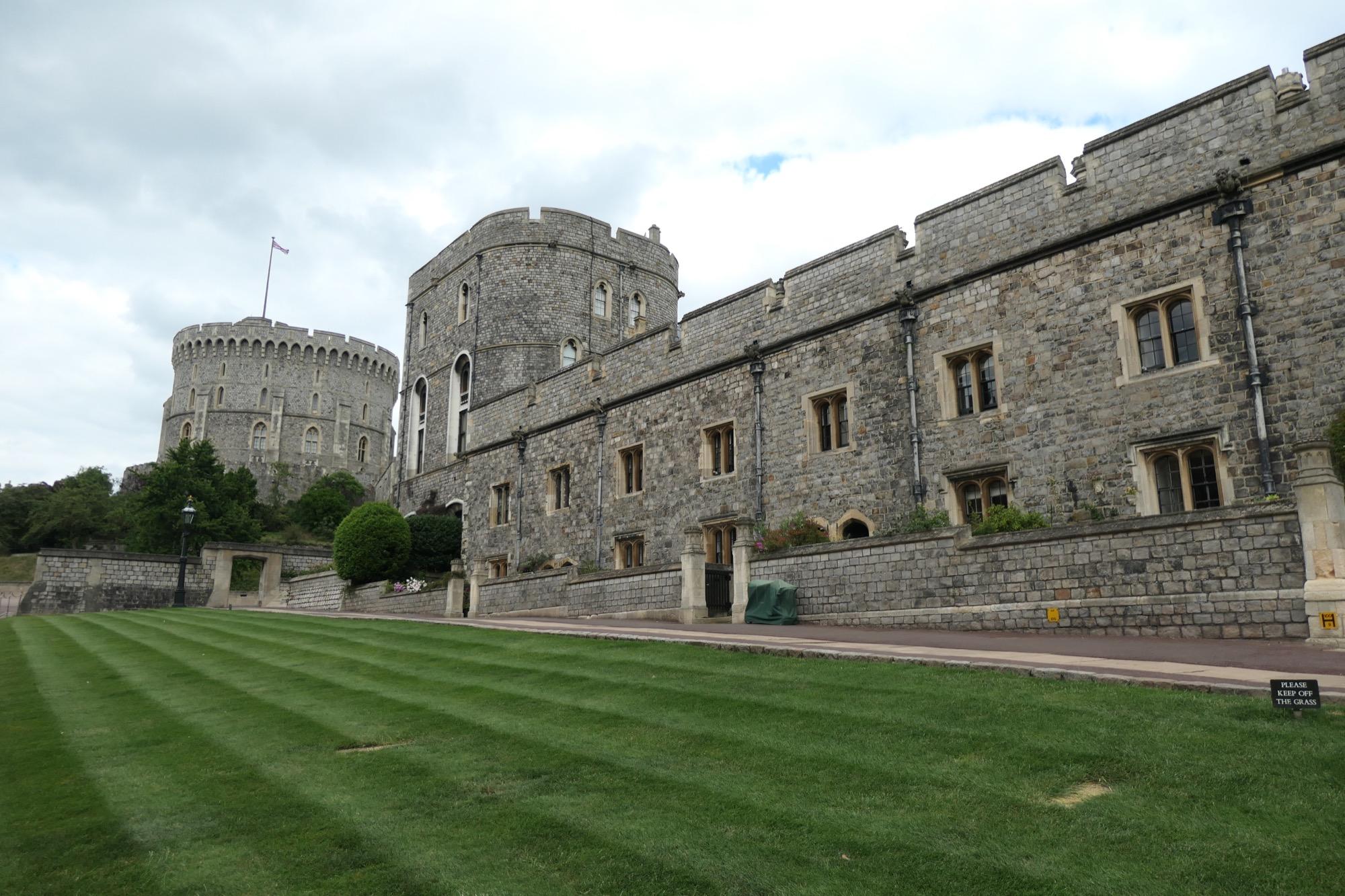 Lower Ward at Windsor Castle