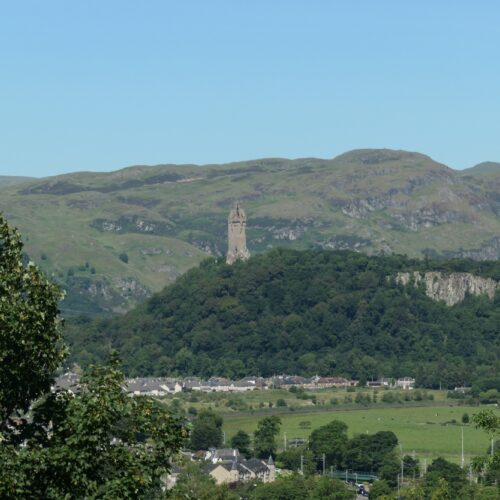 National Wallace Monument seen from Stirling Castle