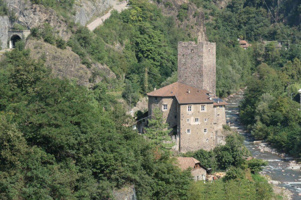 Castle Ried (Italian: Castel Novale) in Bolzano