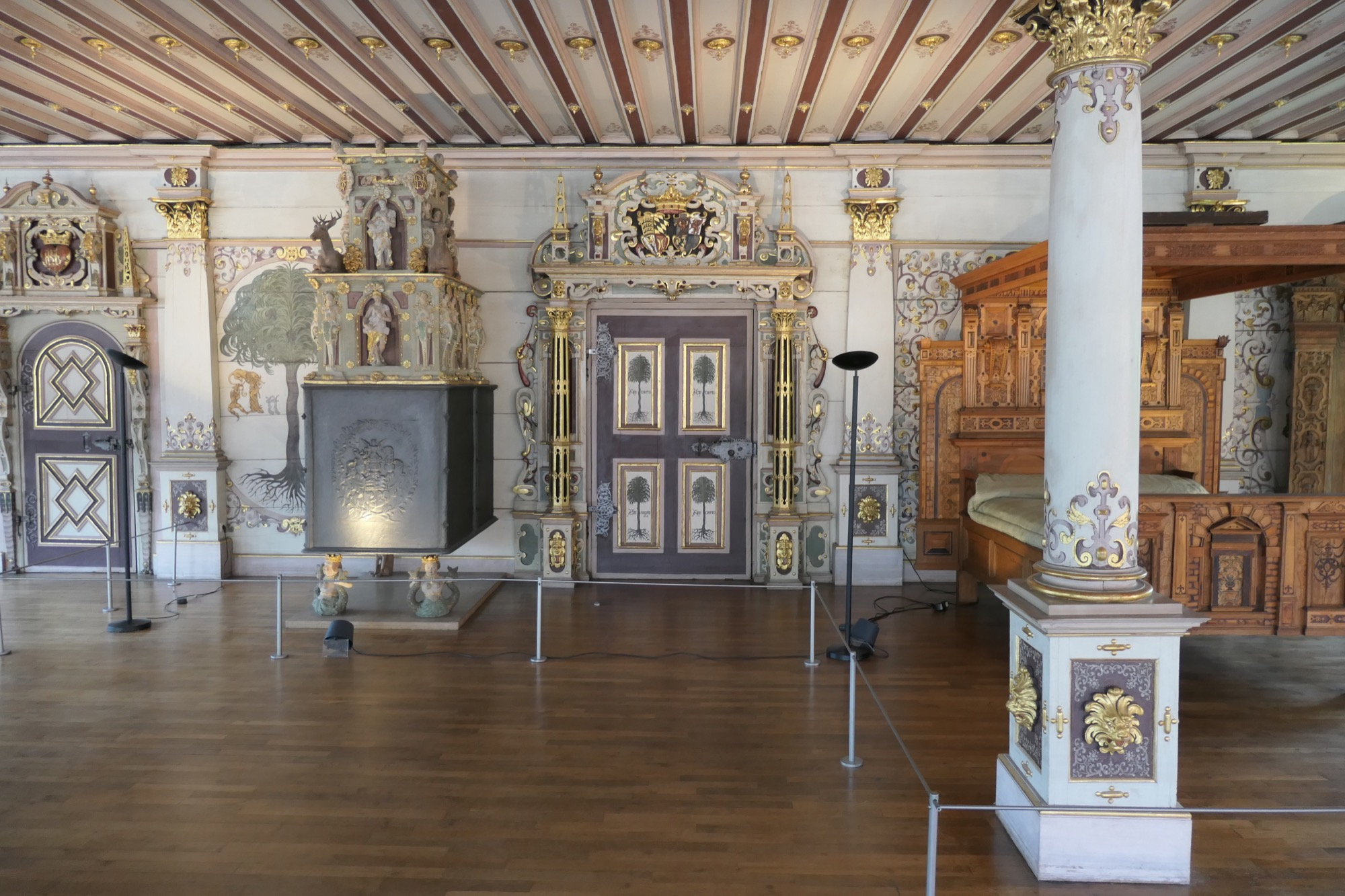 Golden Hall at Urach Residential Palace