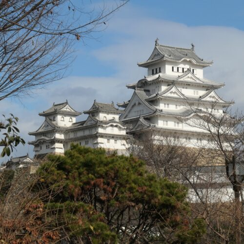 Himeji Castle from a distance