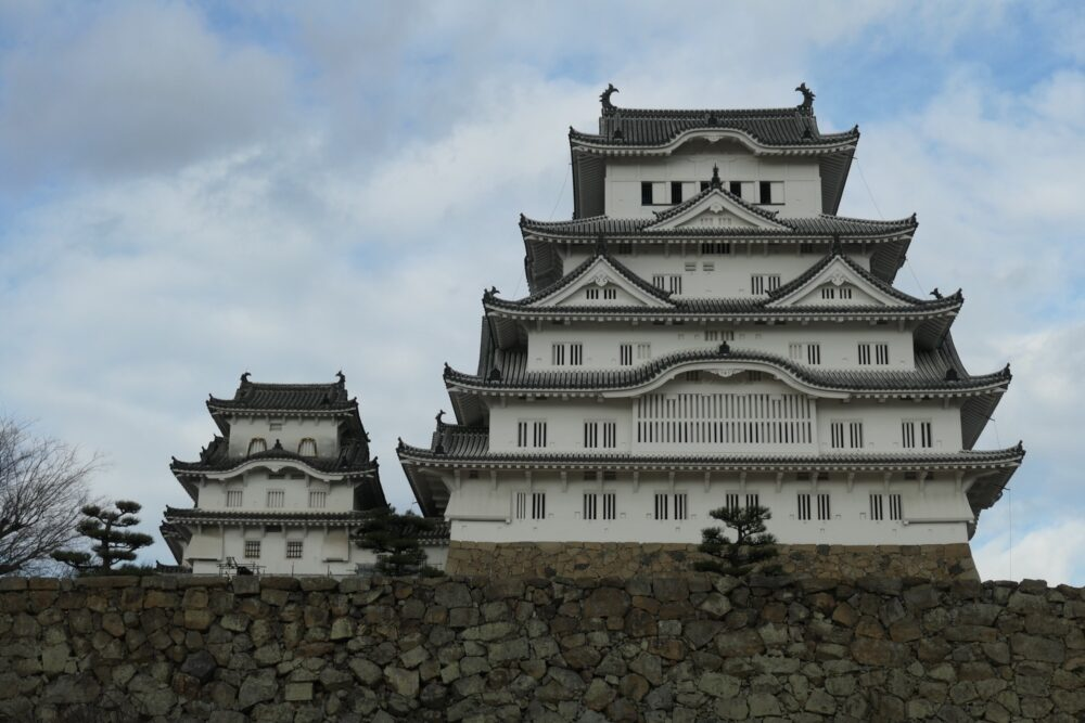 Himeji Castle Main Keep and Adjacent Keep