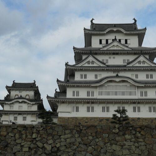 Himeji Castle Main Keep and Adjacent Keep