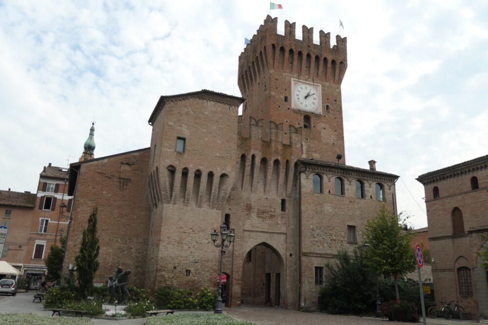 Town gate at Spilamberto