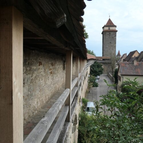Historic City Wall of Rothenburg