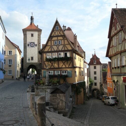 Plönlein in Rothenburg