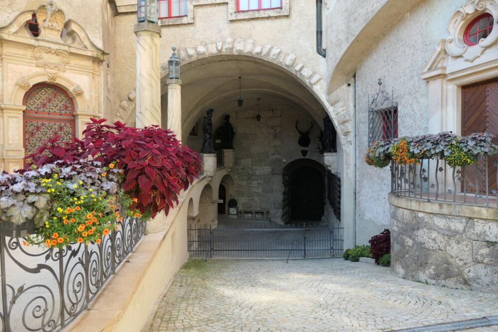 Inner Courtyard at Castle Sigmaringen