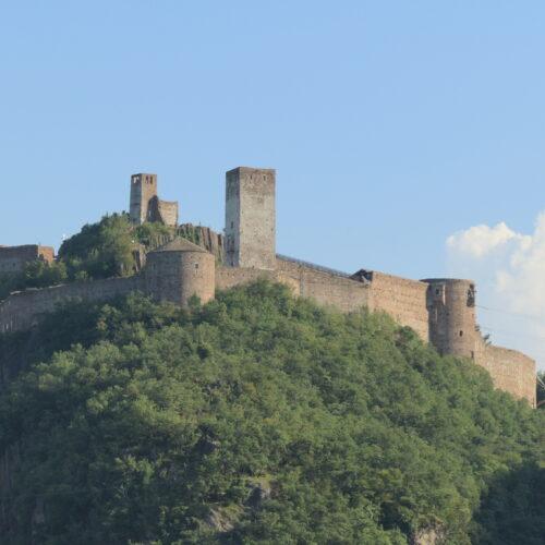 Sigmundskron Castle in Bolzano, South Tyrol, Italy.