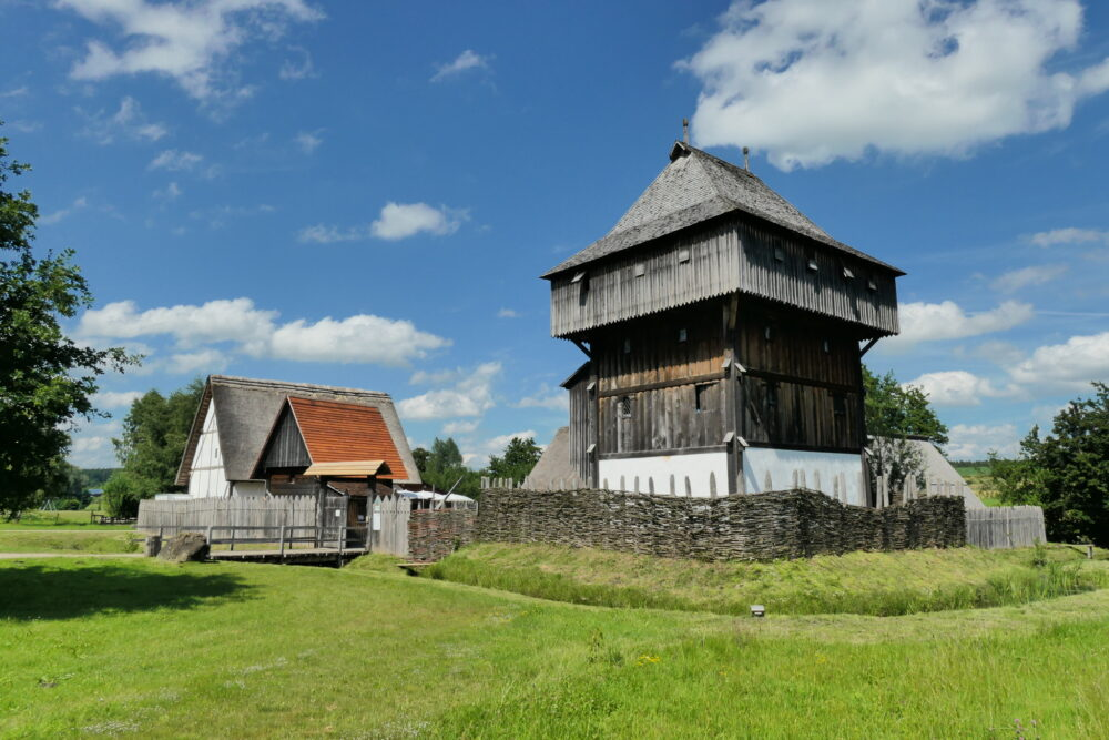 Timber Castle Bachritterburg in Kanzach (Germany)