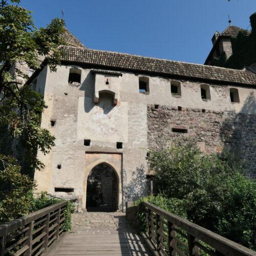 Gate at castel Runkelstein