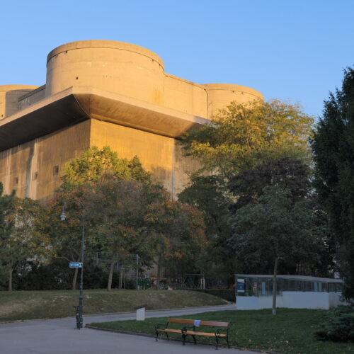 Flak G-Tower at Arenbergpark in Vienna