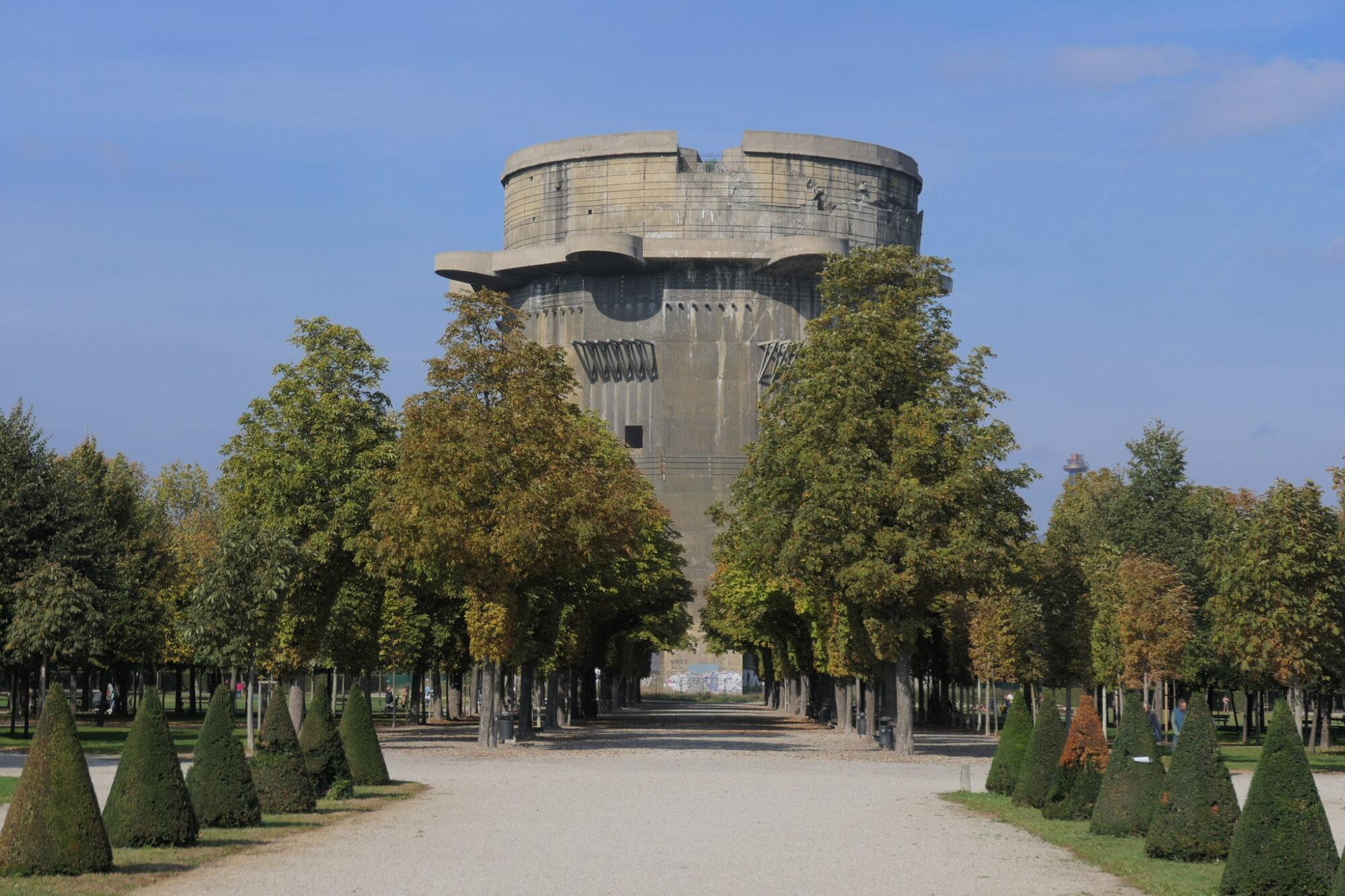 Flak G-Tower at Augarten in Vienna