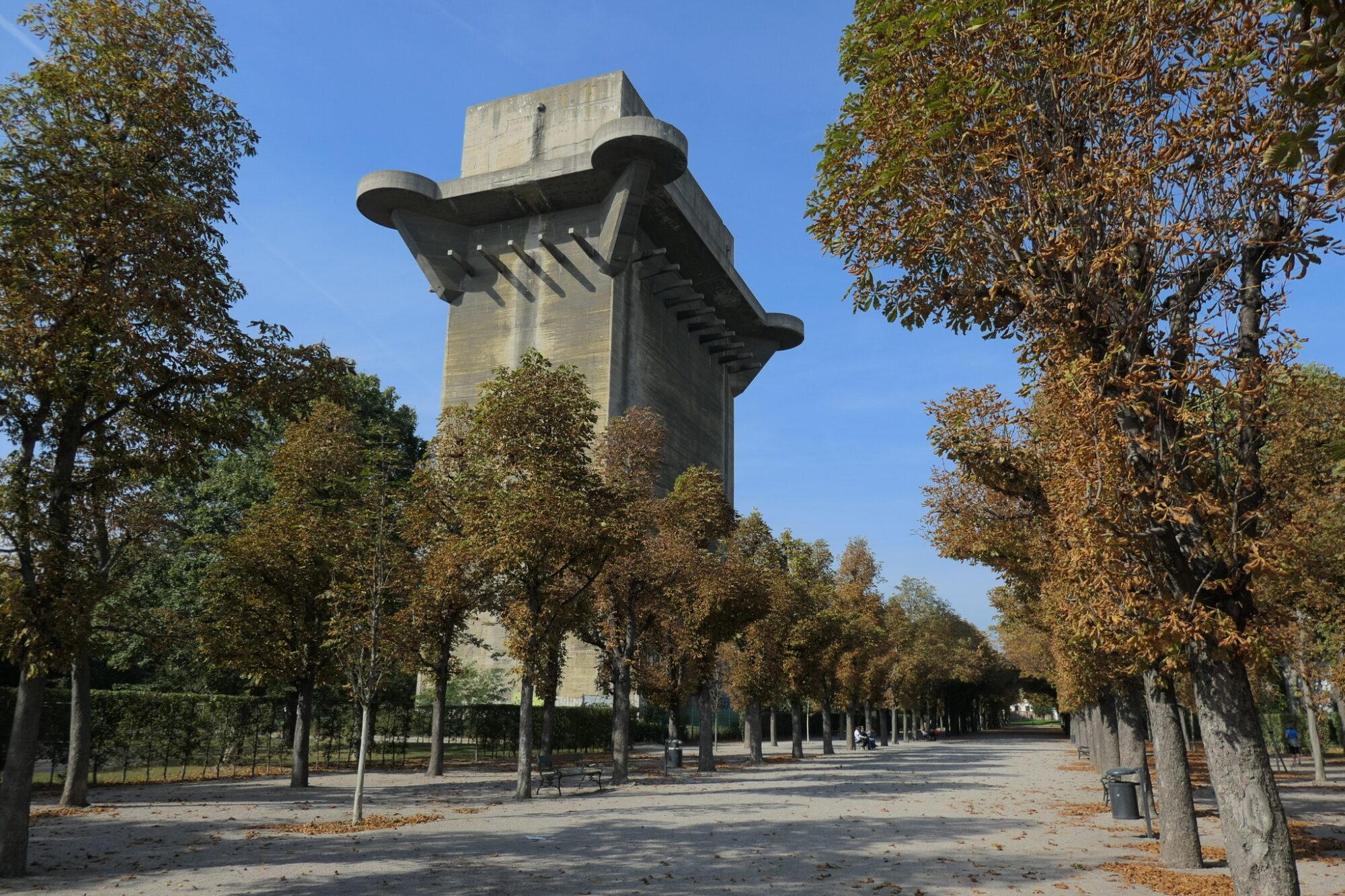 Flak L-Tower at Augarten in Vienna